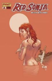 Red Sonja #6 Billy Tan Nude Bathing Cover